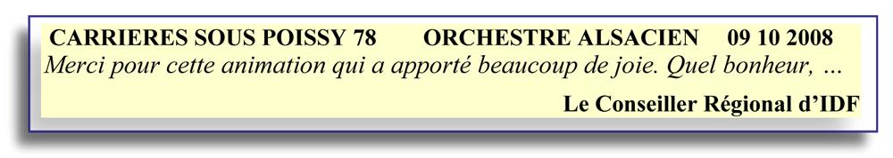 Carrières-Sous-Poissy-78 -2008- orchestre alsacien