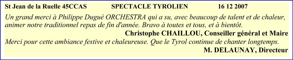 St Jean de la Ruelle 45CCAS- 2007- spectacle tyrolien- orchestre alsacien