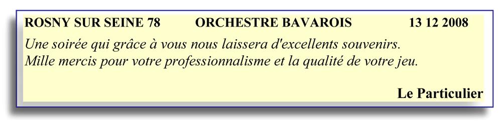 Rosny sur Seine 78 2008 - orchestre bavarois