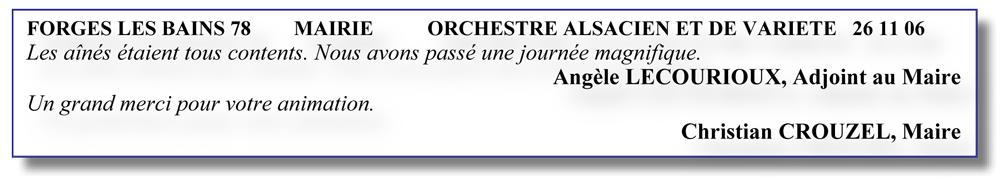 forge les bains78 - 2006- orchestre alsacien