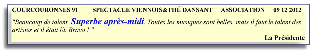 Courcouronnes 91-2012-spectacle viennois-orchestre de variété