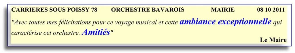 Carrières sous Poissy 78 .2-2011-orchestre bavarois