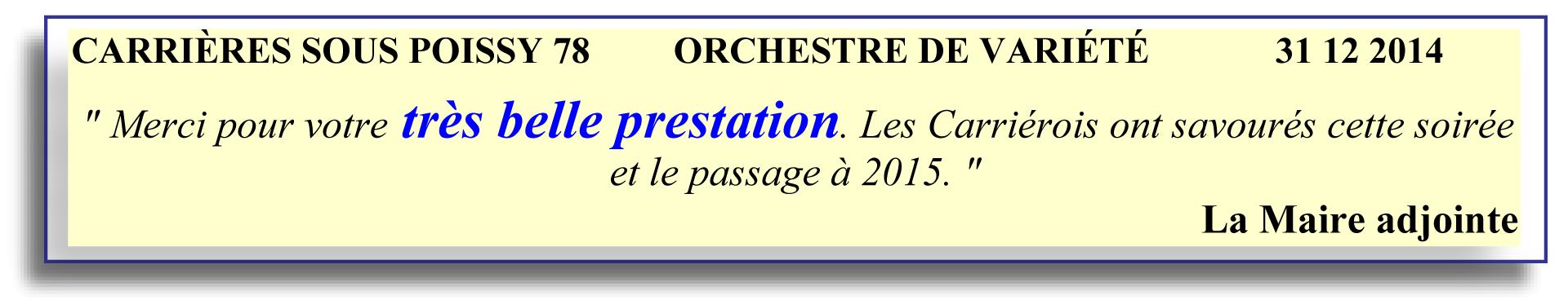 2014-12-31 - Carrières sous poissy 78
