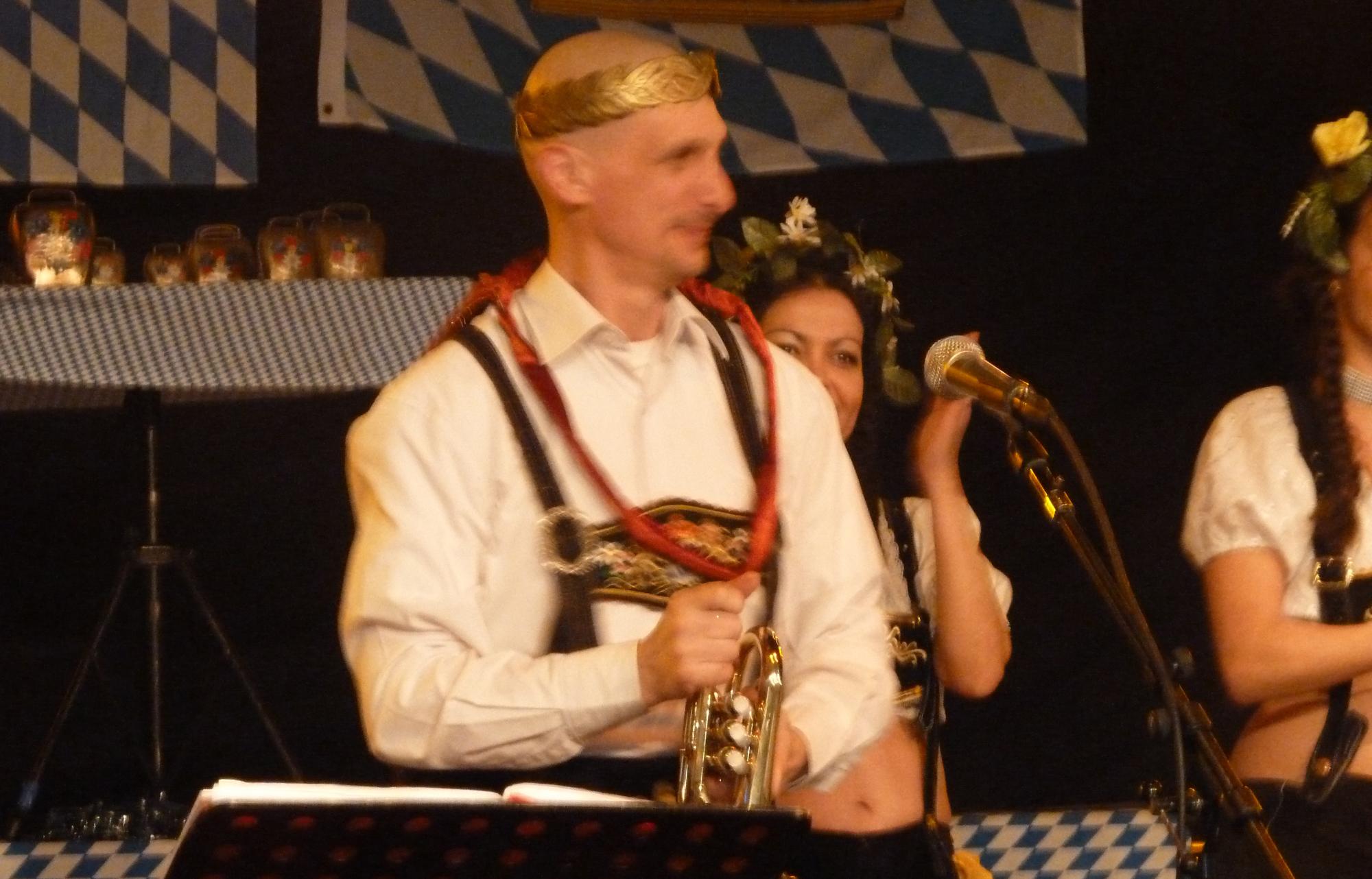 6a Orchestre bavarois à Sion ch, jeudi 12 février 2015 Marche triomphale musicien